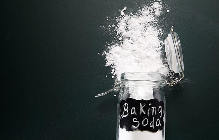 Baking soda mask