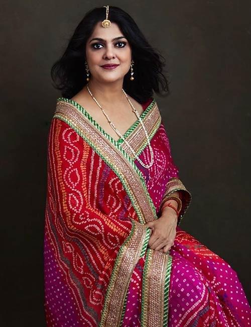 Bandhani- Gujarat And Rajasthan