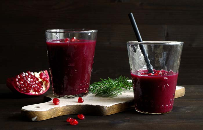 Beet and Pomegranate juice for weight loss