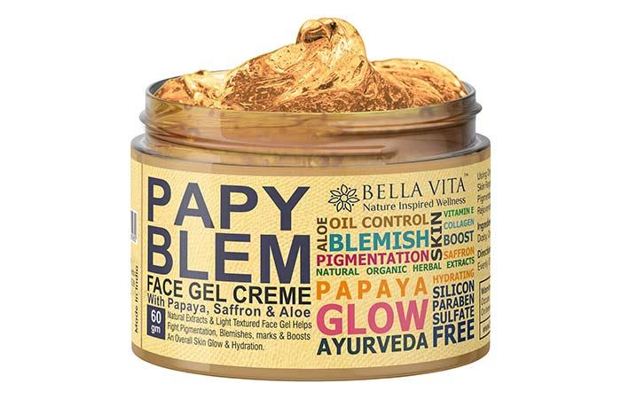 Bella Vita Papaya Glow Pigmentation Blemish Cream Gel