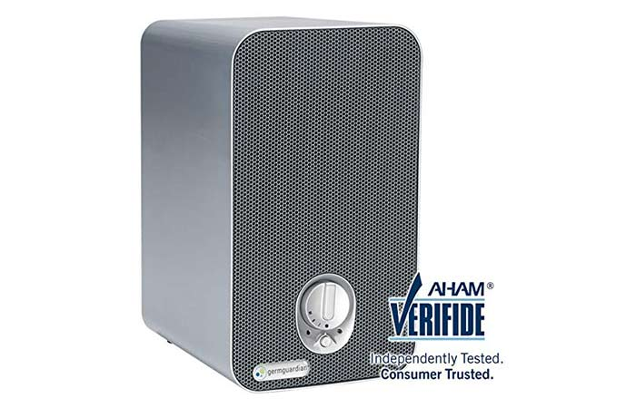Best Budget – GermGuardian AC4100 3-in-1 Air Purifier