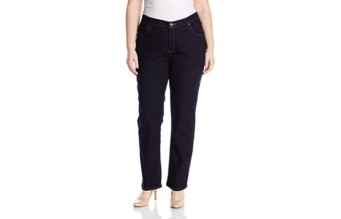 Best Plus-Size Straight Leg Jeans