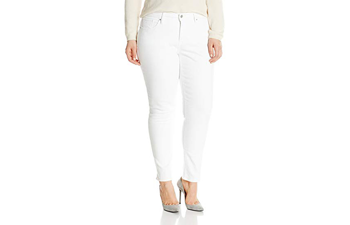 Best Plus-Size White Skinny Jeans