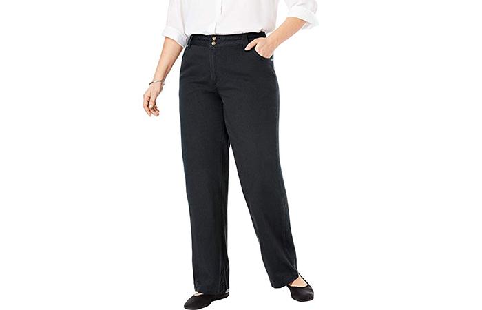 Best Plus-Size Wide Leg Jeans