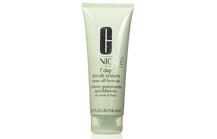 Clinique 7-Day Scrub Cream Rinse-Off Formula