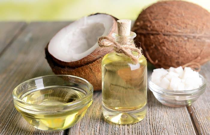 Coconut oil with tea tree oil for hair growth