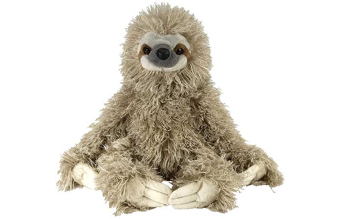 Cuddlekin Three-Toed Sloth For Kids