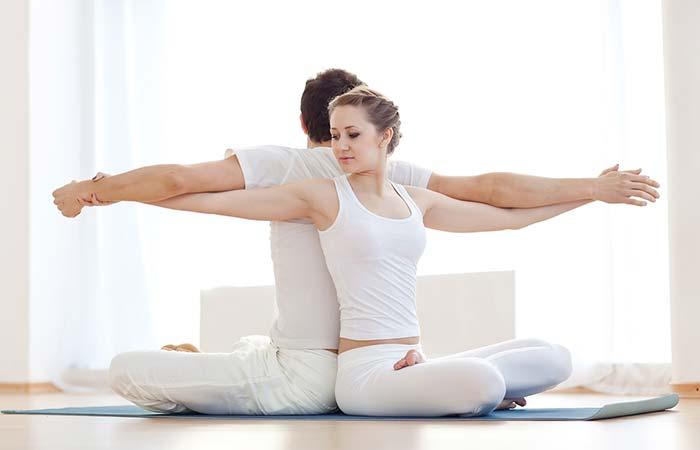 Go To Yoga Class