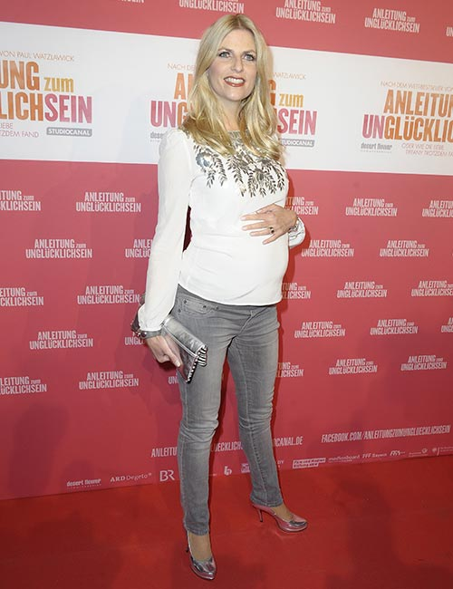 Gray Maternity Jeans