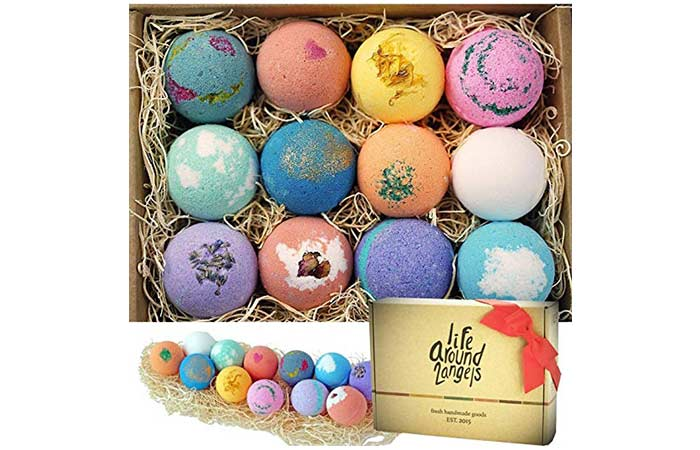 Handcrafted Bath Bombs Gift Set