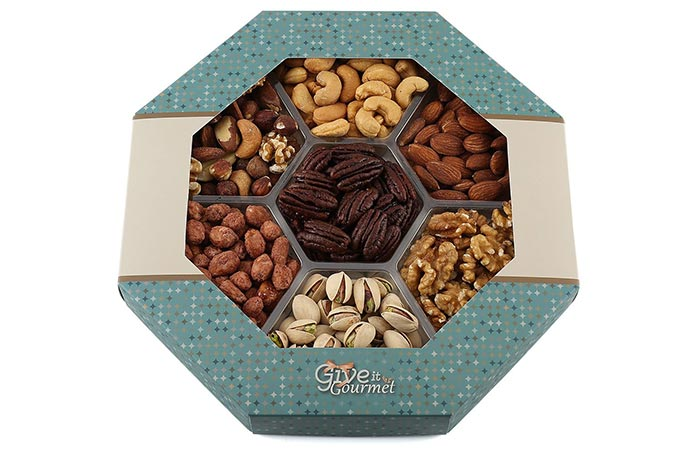 Holiday Nuts Gift Basket