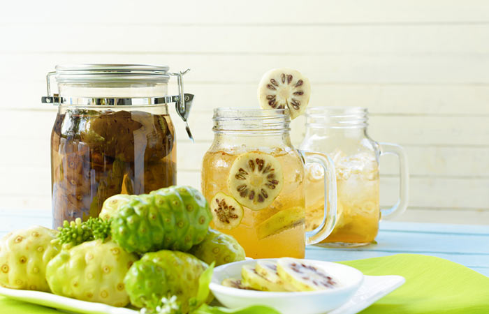 How to make noni juice at home