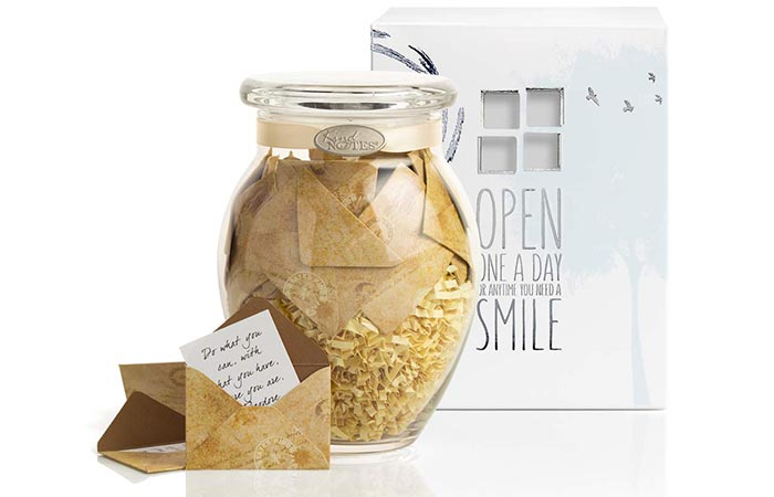 Keepsake Gift Jar with Sympathy Messages