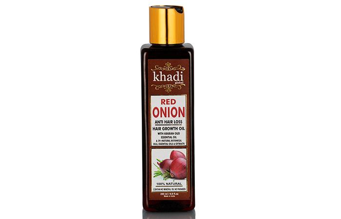 Khadi Global Red Onion Hair Growth Oil