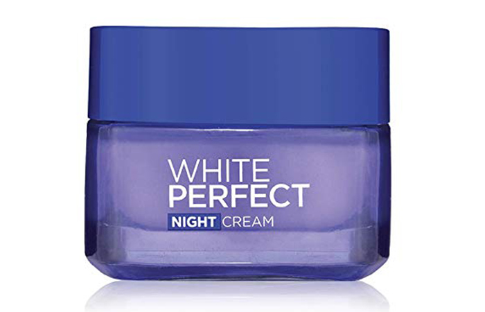 L'Oreal Paris White Perfect Night Cream)