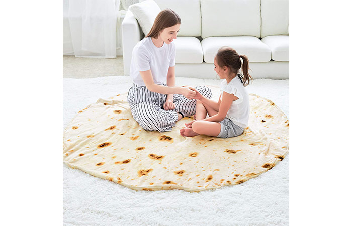 Large Round Tortilla