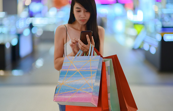 Limit yourself before you go shopping