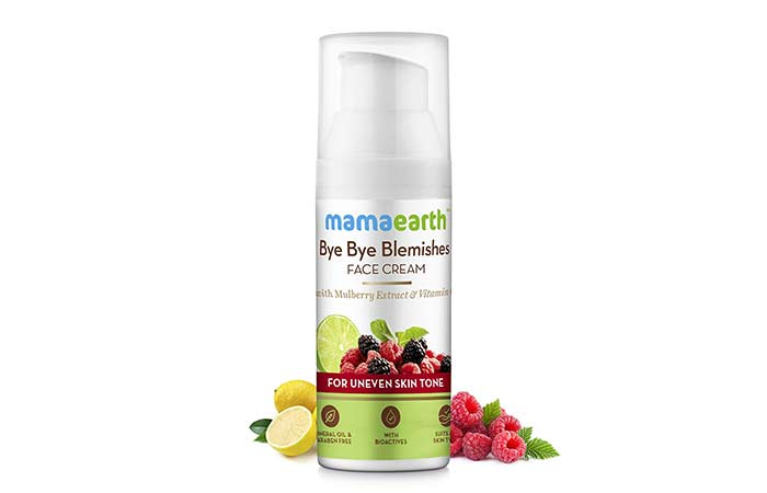 Mamaarth By By Blemishes Face Cream