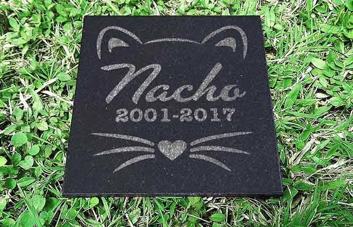 Memorial Cat Plaque