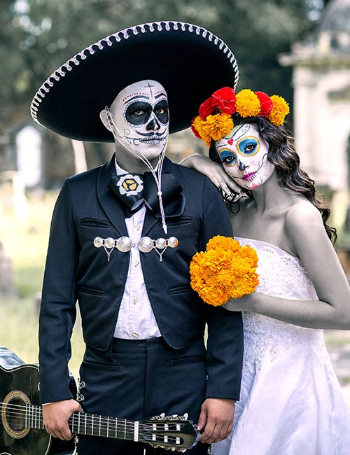 Zombie Couple in Mexico