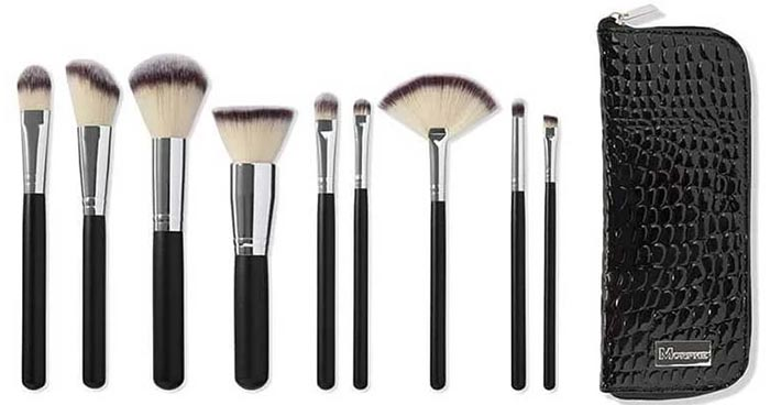 Morphe Set 502 9-Piece Deluxe Vegan Brush Set