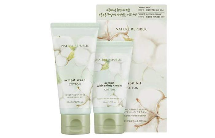 Nature Republic Cotton Armpit Kit