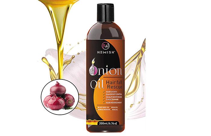 Newish Hair Fall Hair Oil