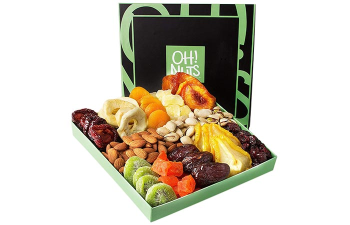 Gift Basket for Nuts and Dried Fruits