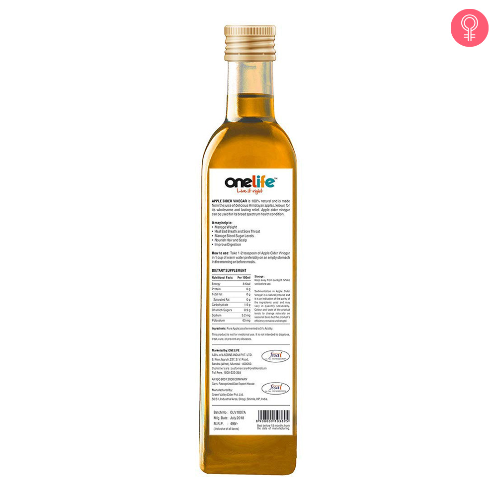 OneLife Apple Cider Vinegar
