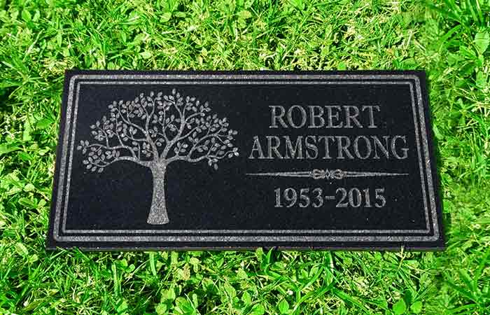 Personalized Granite Memorial Stone