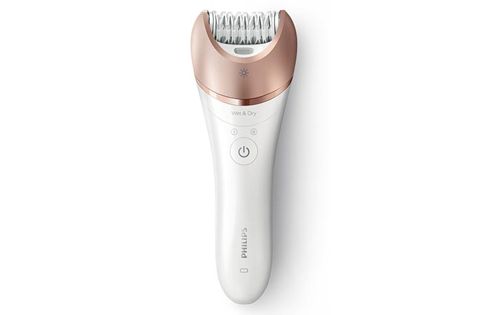 Philips Satinelle Prestige BRE650 Wet & Dry Hair Removal Epilator