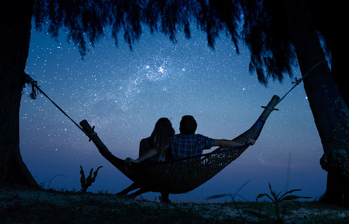 Spend time under the stars