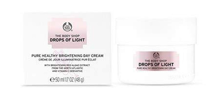 The Body Shop Drops Of Light Brightening Day Cream)