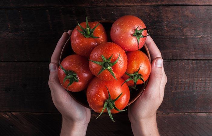 Tomato Tan Removal Scrub