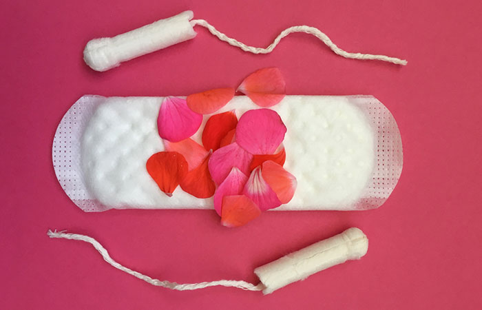 Use of tampons and pads for too long
