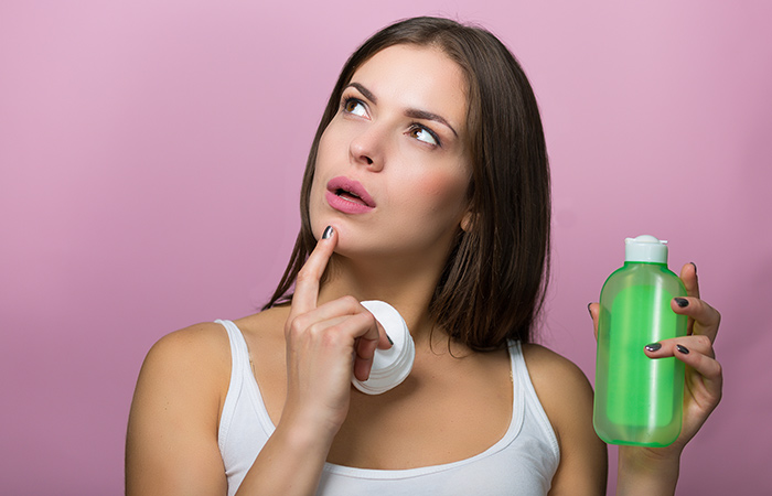 What is the proper way to use toner and astringent