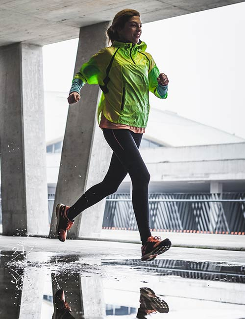 What To Wear Running In The Rain