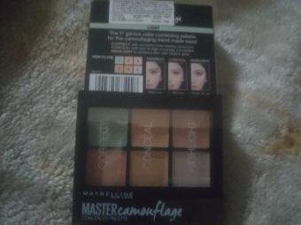 Maybelline New York Master Camo Color Correcting Kit pic 2-Perfect for makeup newbies-By samiya_saduf