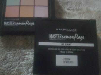 Maybelline New York Master Camo Color Correcting Kit pic 3-Perfect for makeup newbies-By samiya_saduf