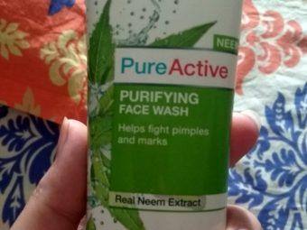 Garnier Skin Naturals Pure Active Neem Face Wash -Good for oily skin-By kamaldeep_kamboj