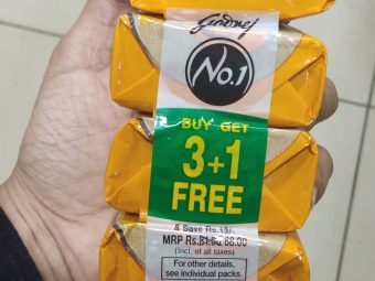 Godrej No 1 Sandal And Turmeric Soap pic 2-Not satisfied-By Nasreen
