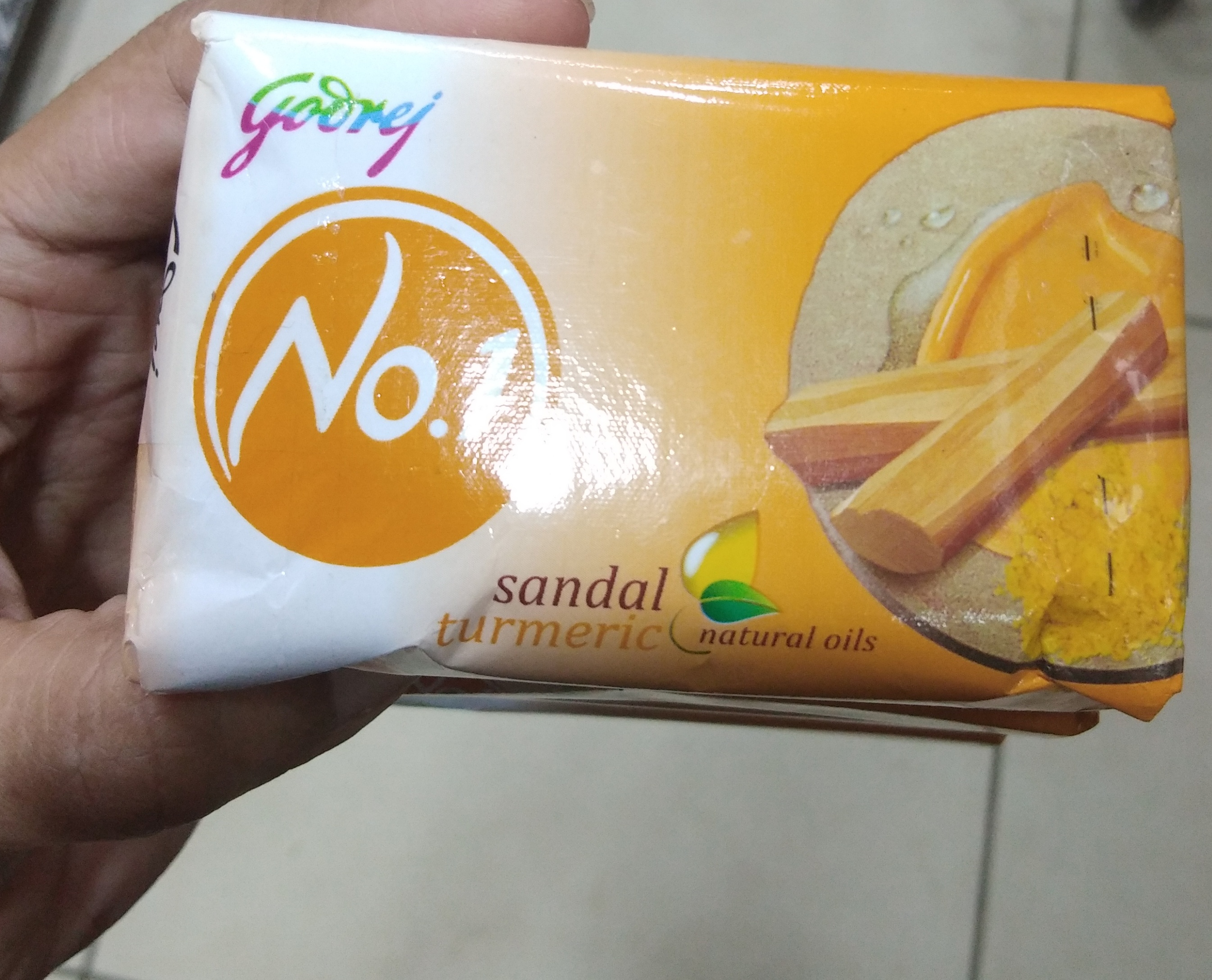 Godrej No 1 Sandal And Turmeric Soap-Not satisfied-By Nasreen-1