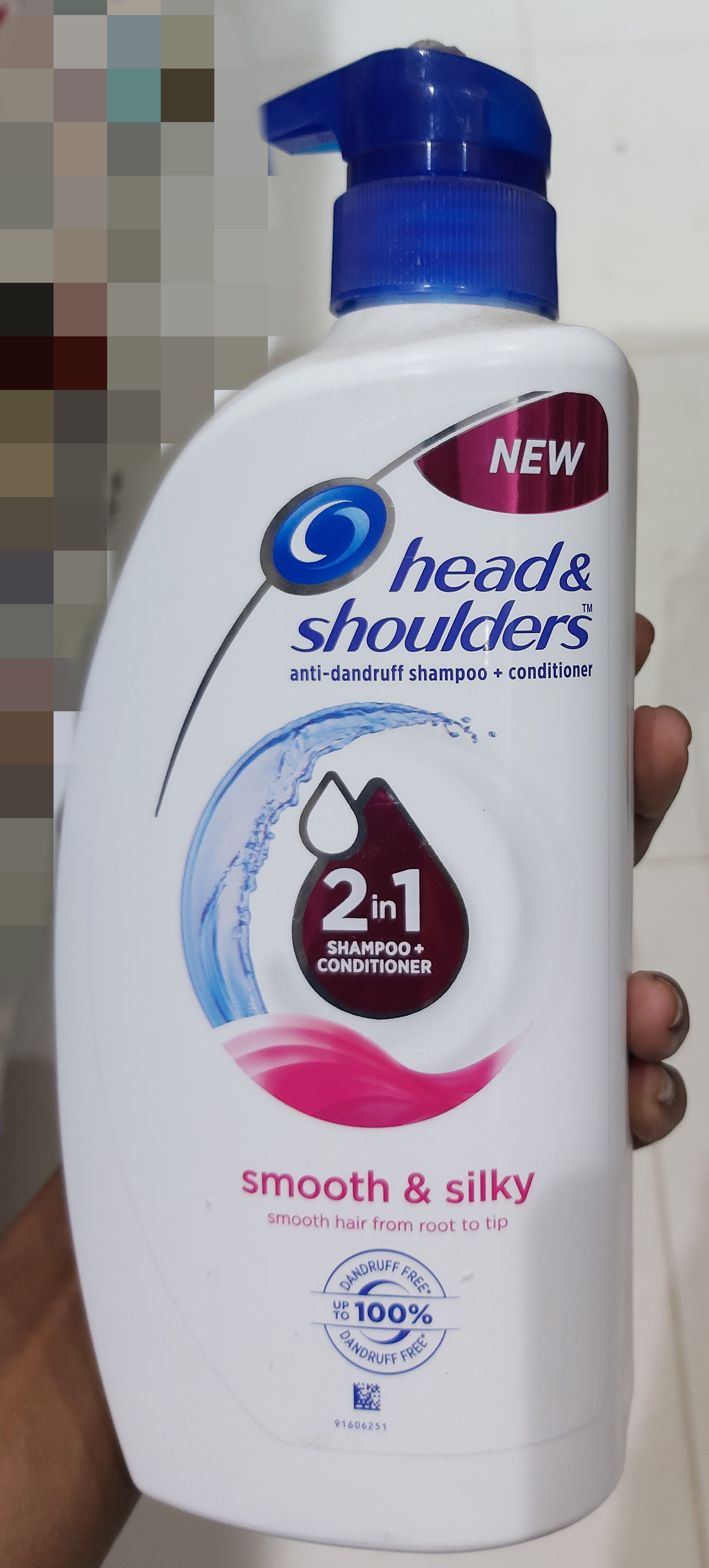 Head & Shoulders Smooth And Silky 2-In-1 Shampoo + Conditioner-Works effectively-By saraswathig-1
