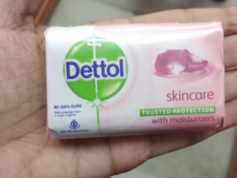 Dettol Skincare Soap pic 1-Good cleansing soap-By Nasreen