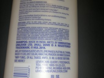 Dove Hair Fall Rescue Shampoo pic 1-Two in one shampoo and conditioner formula-By riya_neema