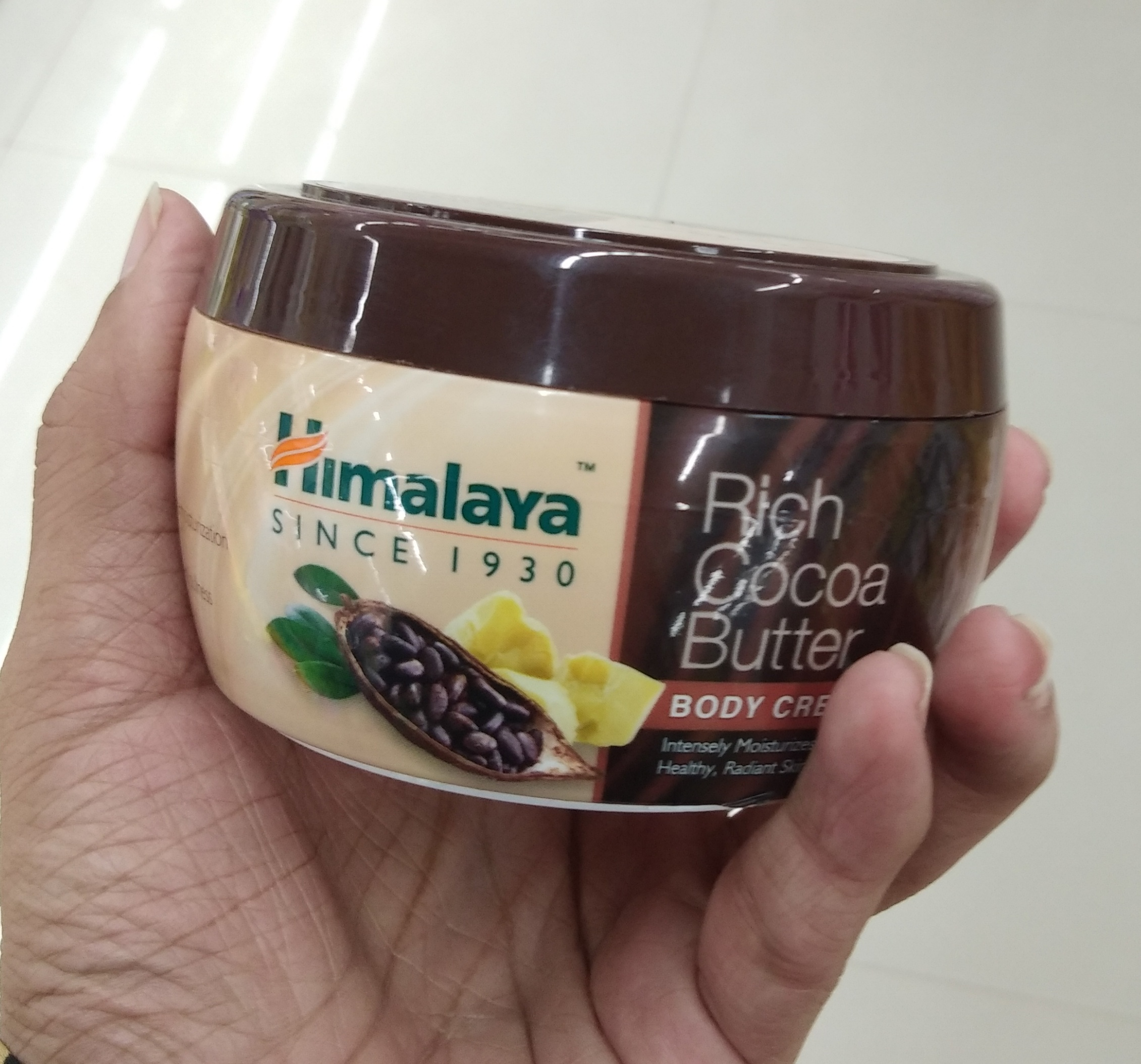Himalaya Herbals Rich Cocoa Butter Body Cream-Awesome-By Nasreen-2