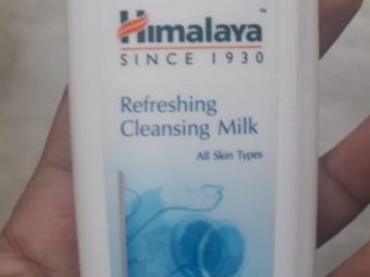 Himalaya Herbals Refreshing Cleansing Milk pic 2-Works great-By Nasreen