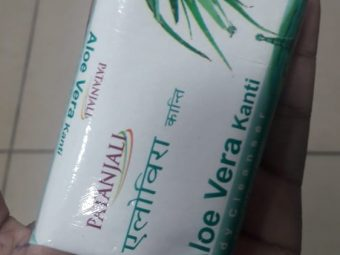 Patanjali Aloevera Kanti Body Cleanser pic 2-Not satisfied-By Nasreen