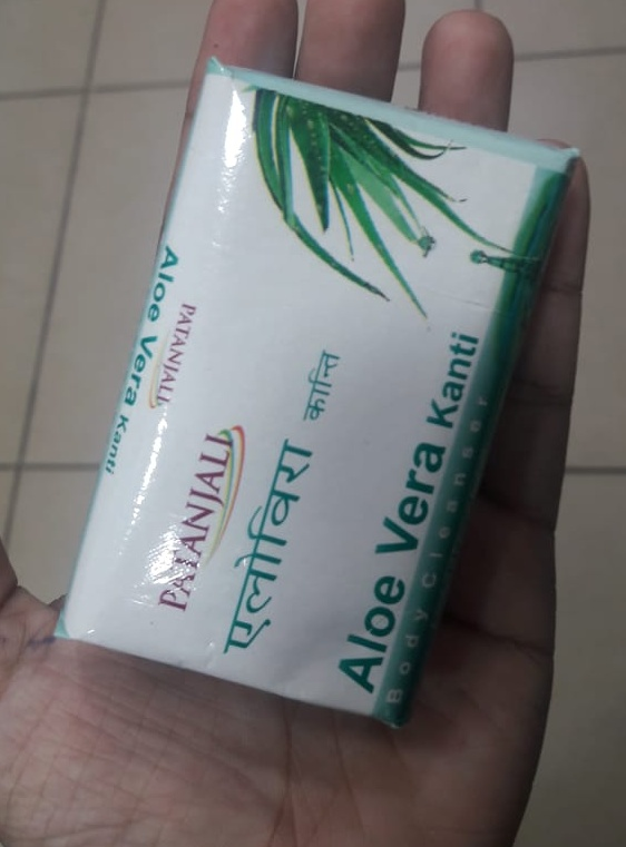 Patanjali Aloevera Kanti Body Cleanser-Not satisfied-By Nasreen-2