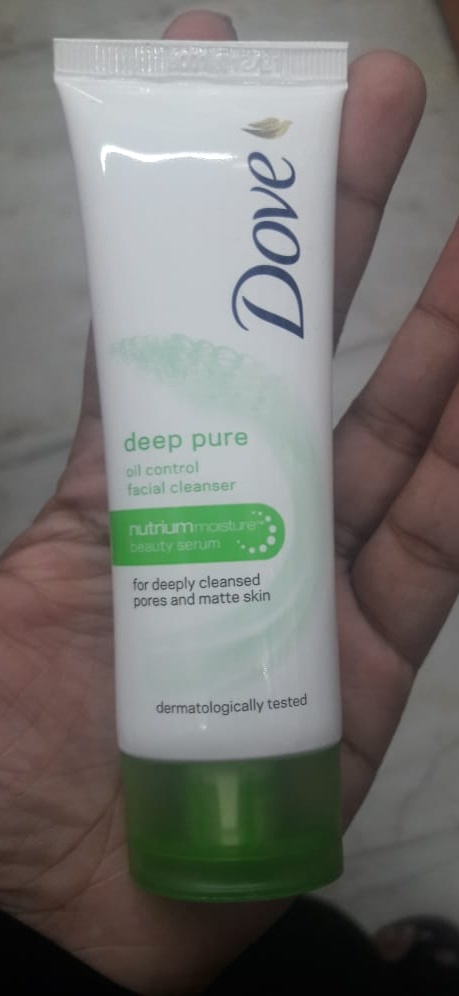 Dove Deep Pure Face Wash-Works good-By Nasreen-2